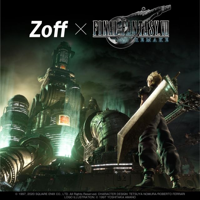 【Zoff SMART FINAL FANTASY Ⅶ REMAKE Model新発売!】